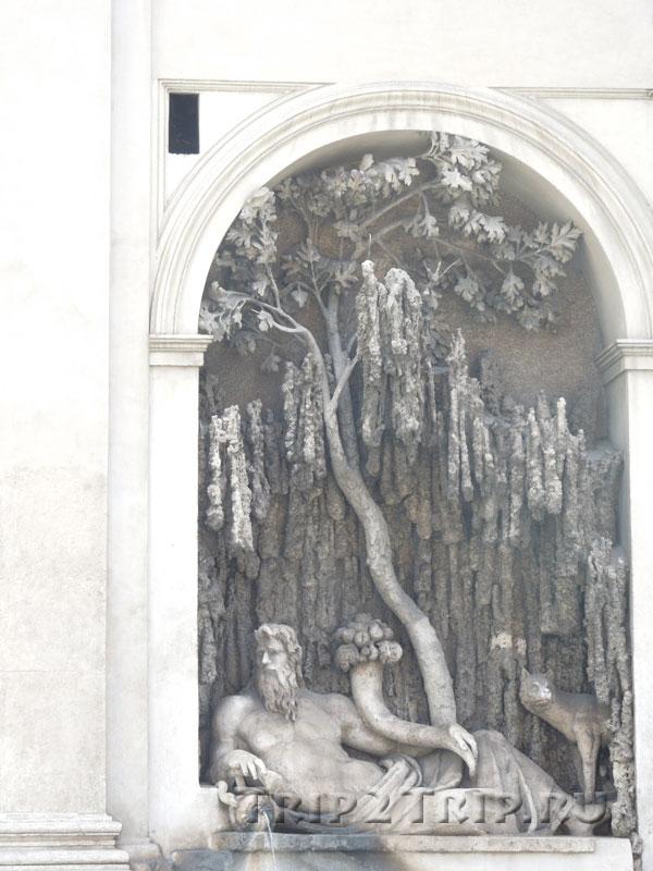 Четыре Фонтана, Рим