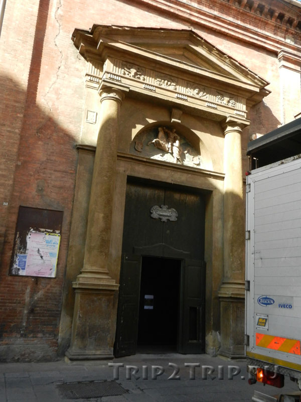 Боковой портал церкви Сан-Мартино, Болонья