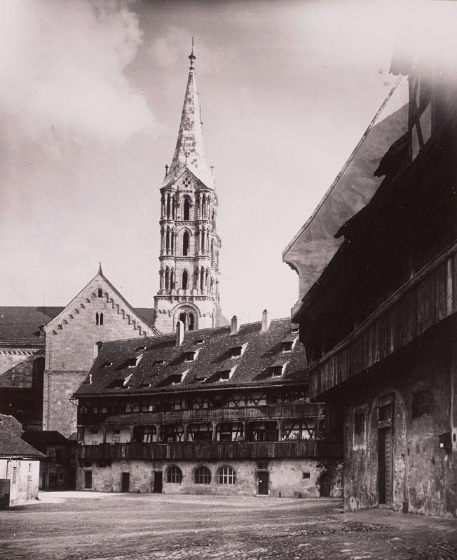 Старый Епископский Двор и башня собора, Бамберга