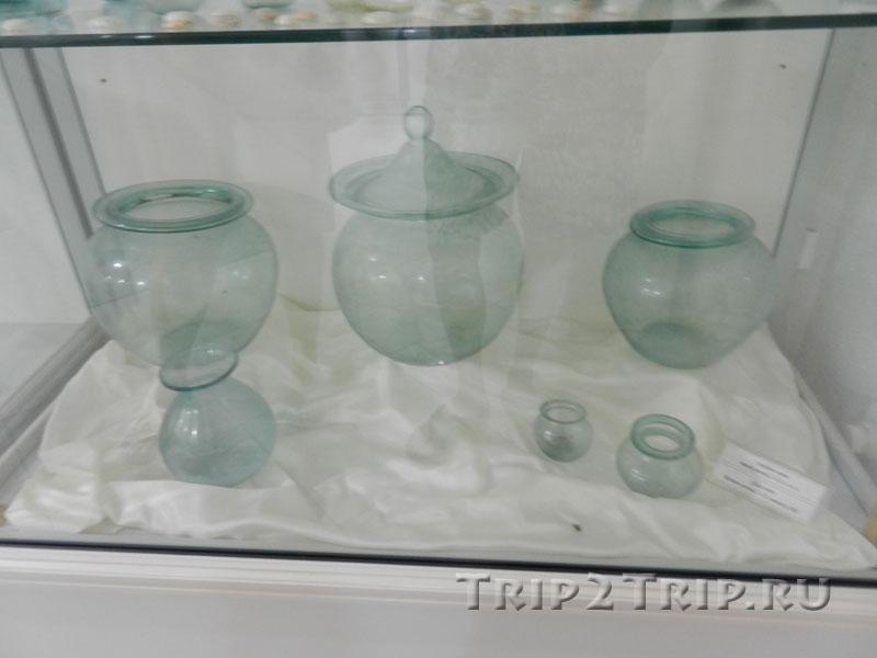 Стеклянные изделия, Археологический музей Будвы