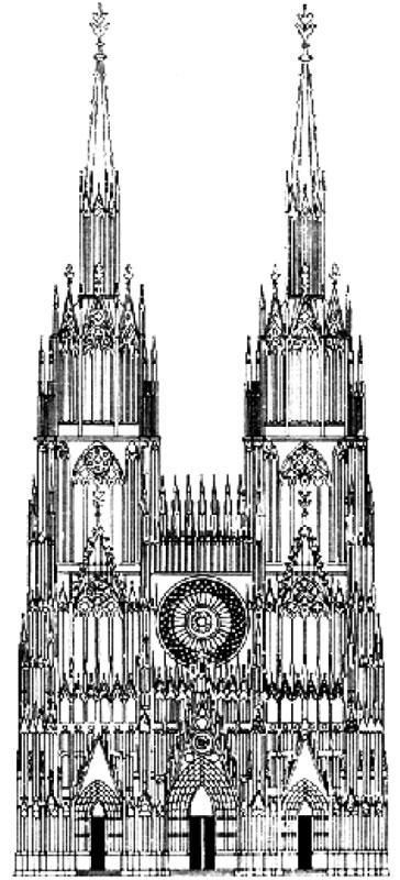 План B мастера Эрвина фон Штейнбаха, Страсбургский собор