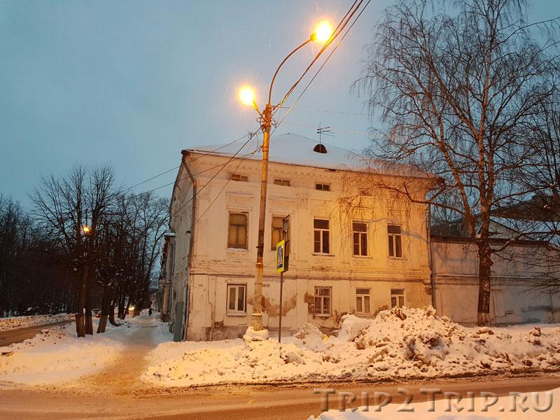 Усадьба Стригалёвых, улица Молочная Гора, Кострома