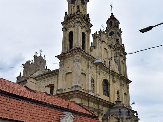 Костёл Вознесения, Холм Спасителя, Вильнюс