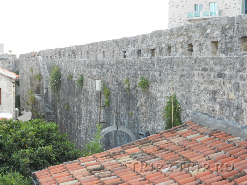 Стены Старой Будвы