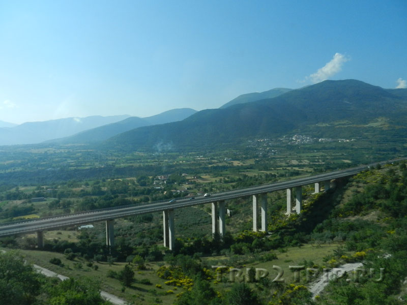 Апеннины, Италия