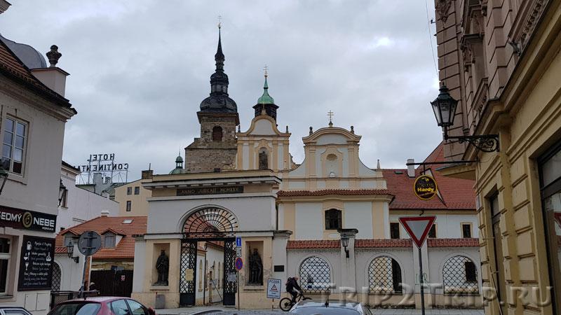 Францисканский монастырь, Пльзень