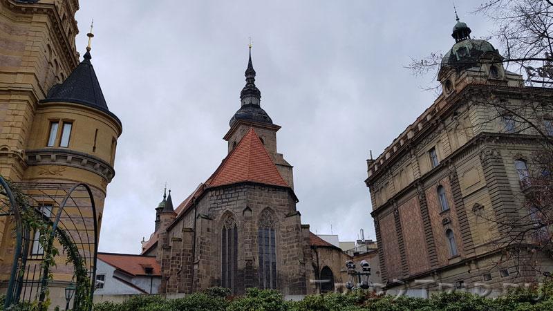 Апсида костёла Успения Богородицы, францисканский монастырь