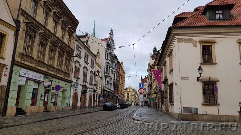 Пражская улица, Пльзень