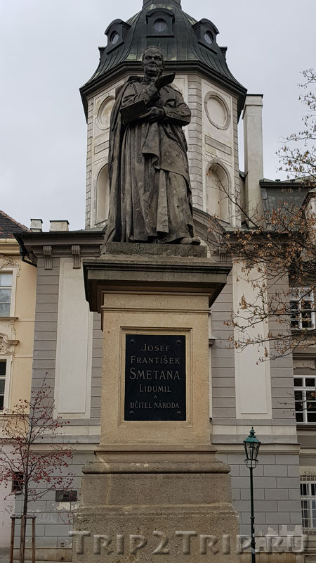 Памятник Йозефу Франтишеку Сметане, Сметановы сады