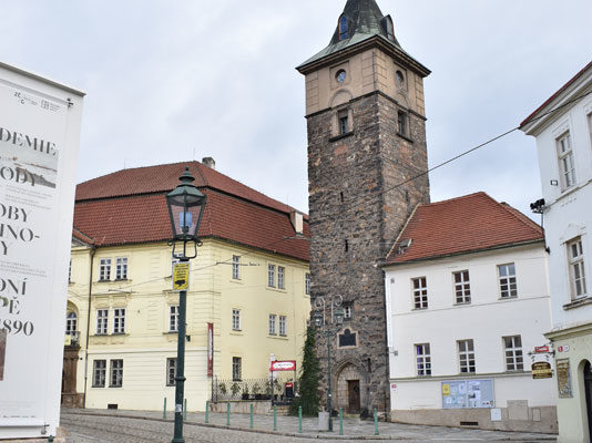 Чёрная башня, Пльзень