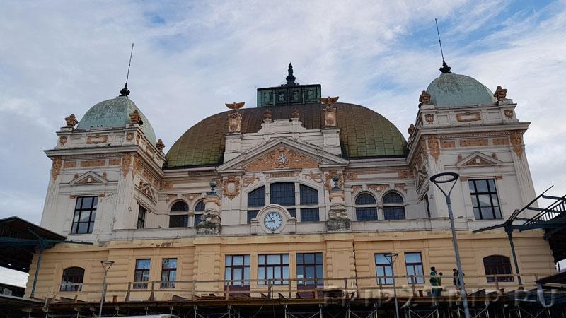 Центральный железнодорожный вокзал, Пльзень