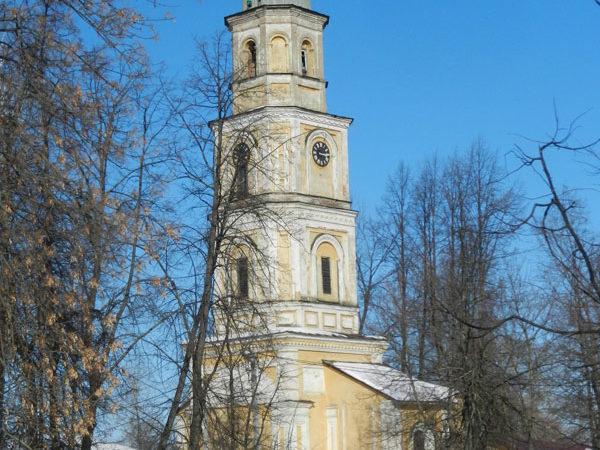 Колокольня Воздвиженской церкви, Ростов Великий