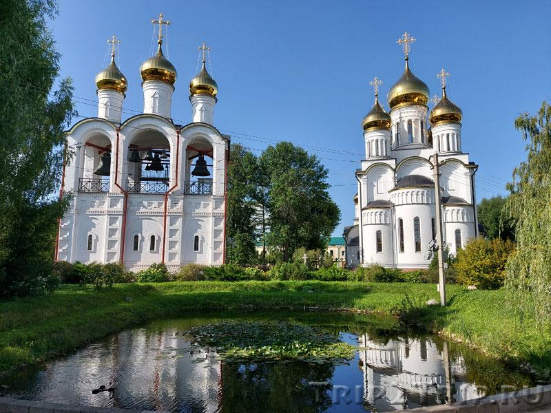 Предтеченская церковь и Никольский собор, Никольский монастырь, Переславль-Залесский