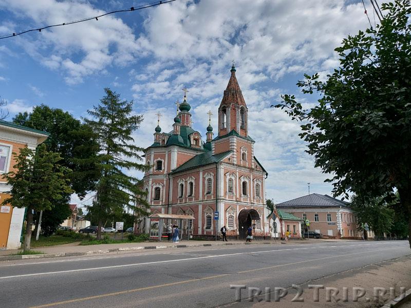 Церковь Симеона Столпника, Ростовская улица, Переславль-Залесский