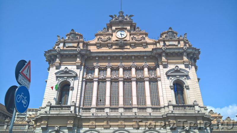 Центральный корпус вокзала Бриньоле, Генуя
