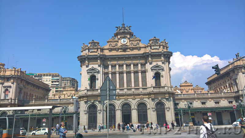 Вокзал Бриньоле, Генуя